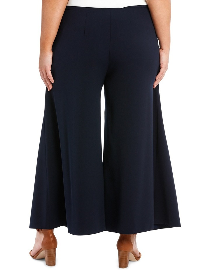 Wide Leg Pant With Front Splits image 5