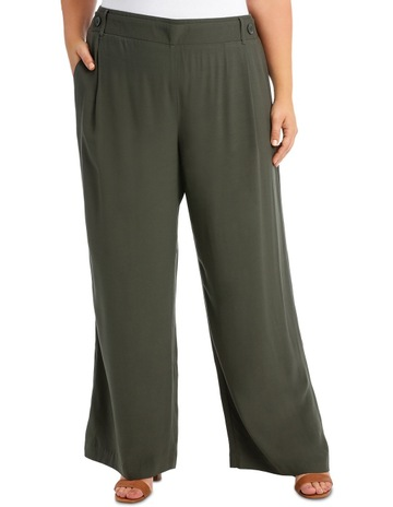 05982ab593f39 Piper 16-22 Pant Wide Leg with Button detail