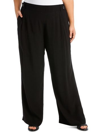 ab2c013db84 Piper 16-22 Pant Wide Leg with Button detail