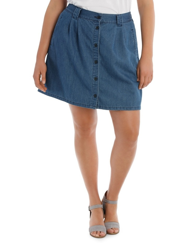 Skirt with Button image 1