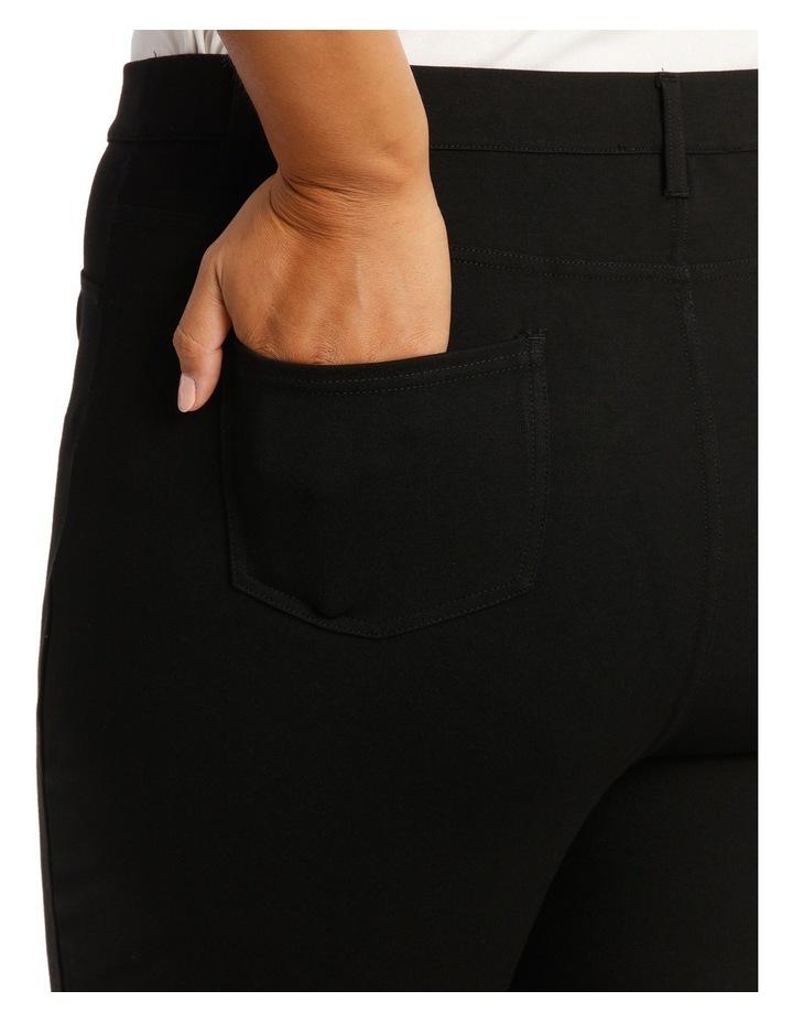 Jeggin Ponte With Skinny Leg image 4