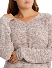 Regatta Woman - Tape Yarn 3/4 Sleeve Jumper