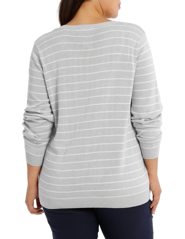 Stripe Soft Jumper image 3