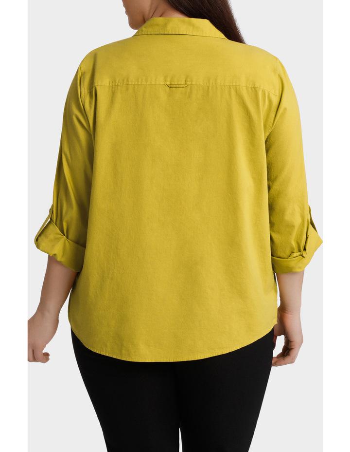 Cotton 3/4 Sleeve Shirt image 3