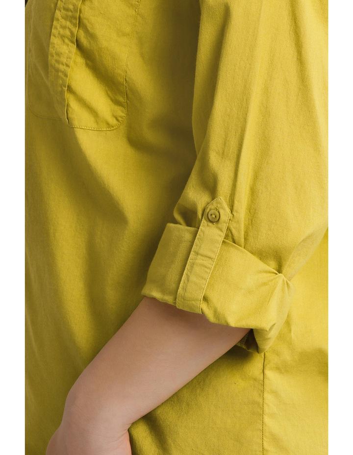 Cotton 3/4 Sleeve Shirt image 4