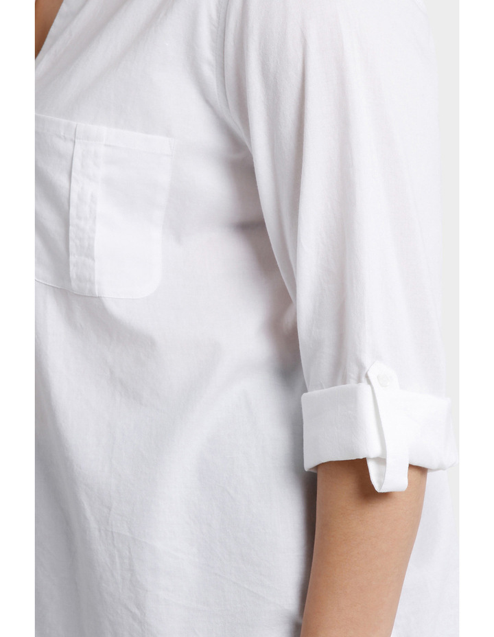 Must Have Cotton 3/4 Sleeve Shirt image 4