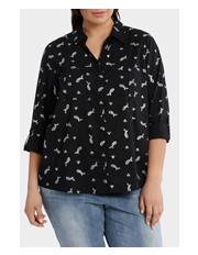 Regatta Woman - Must Have Foil Cotton 3/4 Sleeve Shirt