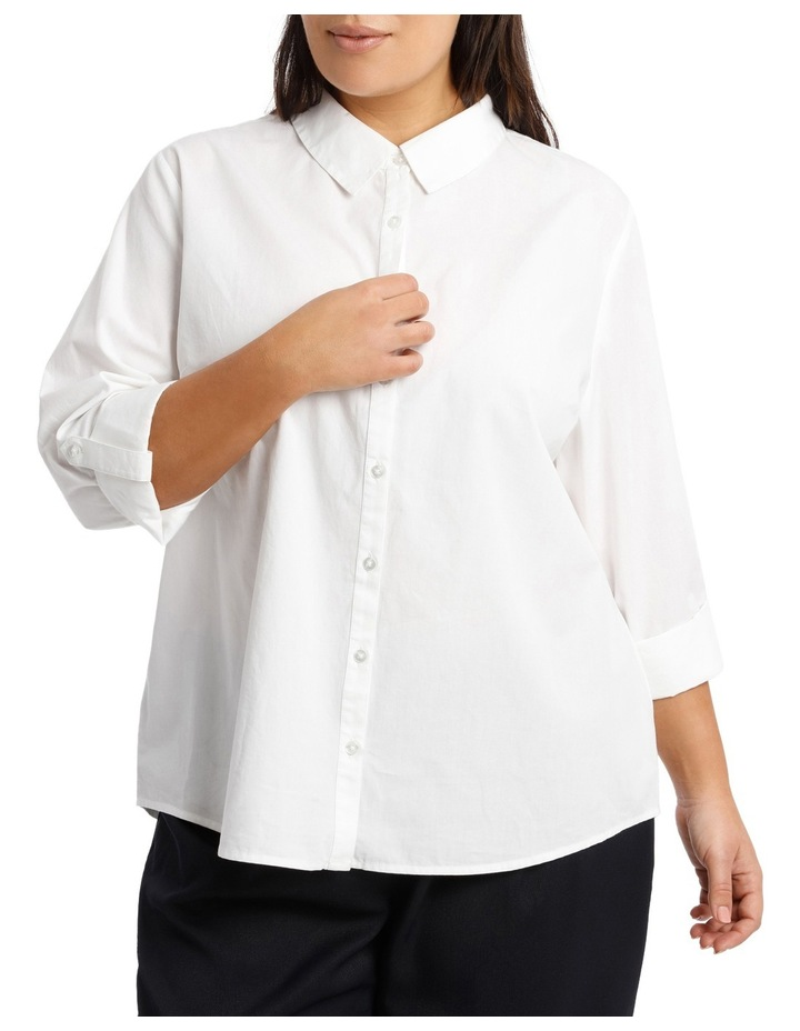 Must Have Cotton Shirt - White image 1