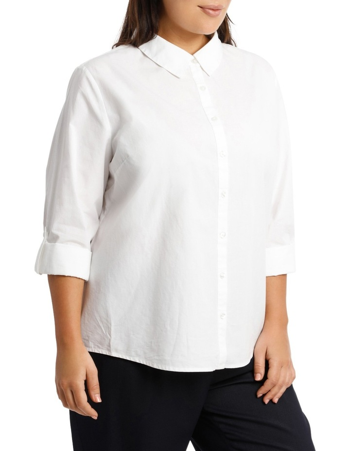 Must Have Cotton Shirt - White image 2