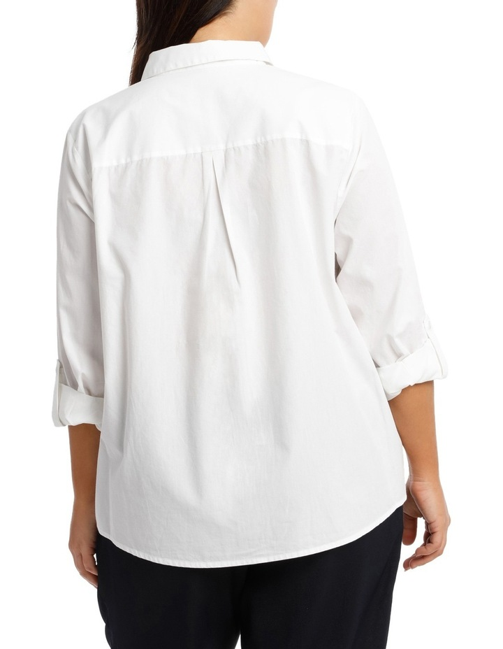 Must Have Cotton Shirt - White image 3