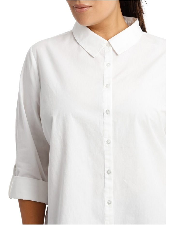 Must Have Cotton Shirt - White image 4