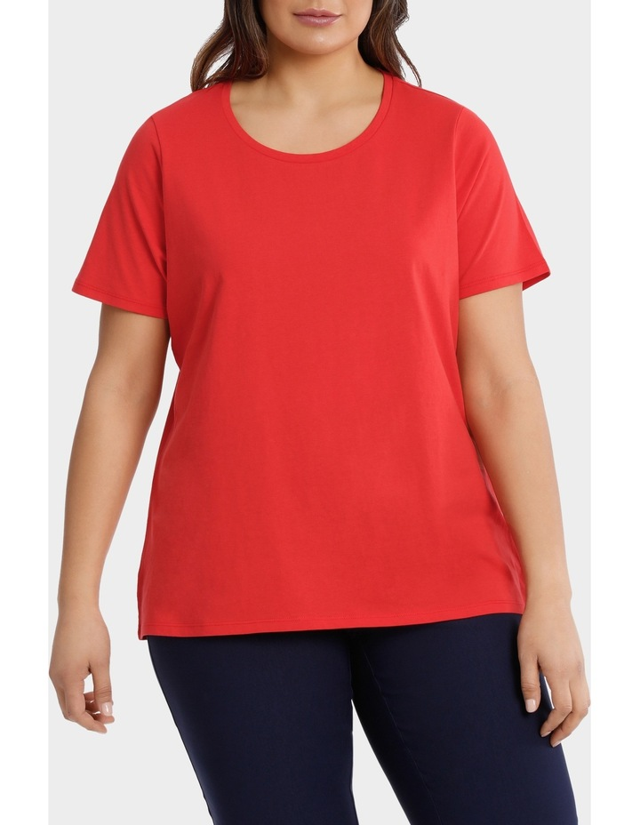 Essential Cotton Short Sleeve Tee image 1