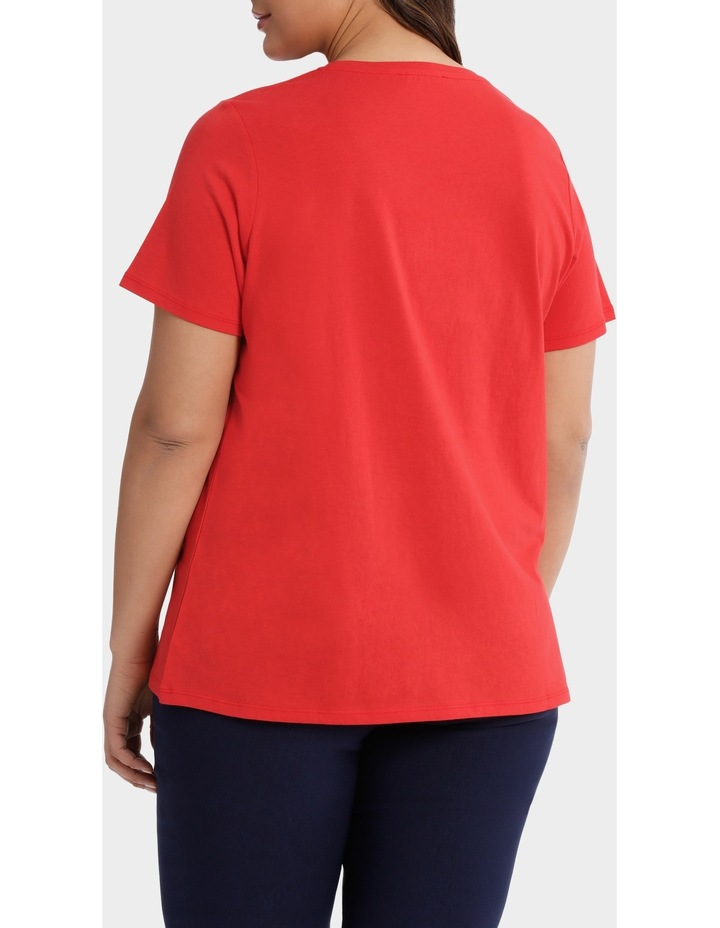 Essential Cotton Short Sleeve Tee image 3