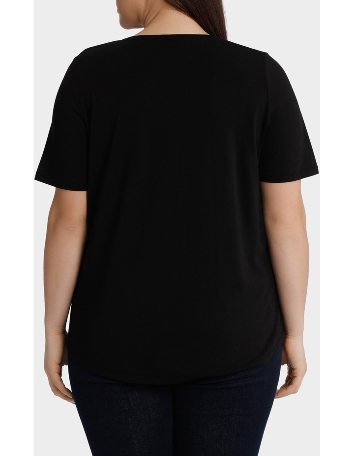 Essential Slouchy Short Sleeve Tee image 3