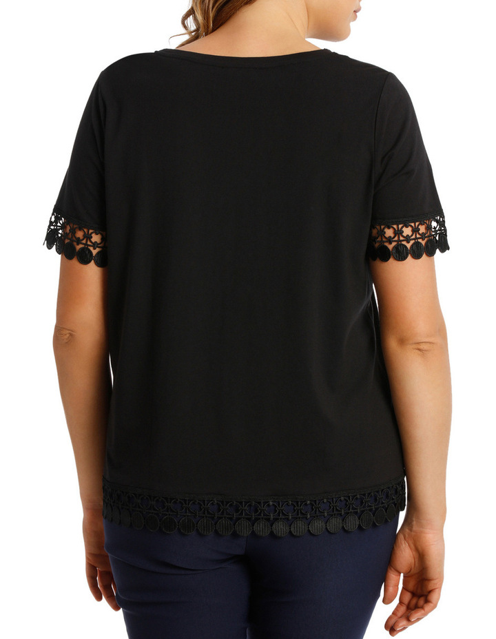 Lace Trim Tee image 3