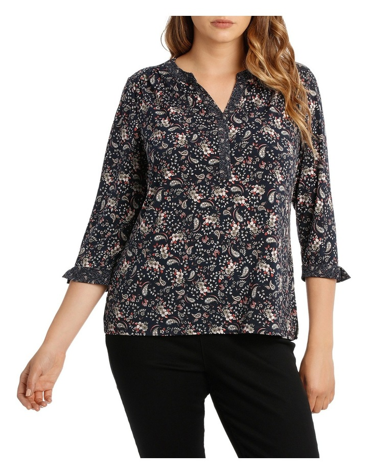 Must Have Tunic 3/4 Sleeve Tee image 1