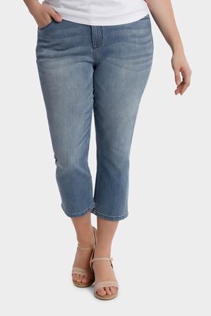 Regatta Woman - Pinstripe Denim Crop Jean