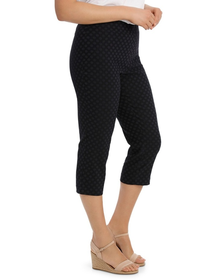 Essential Stretch Text Crop Pant image 1