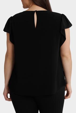 Basque Woman - Flutter Sleeve Top