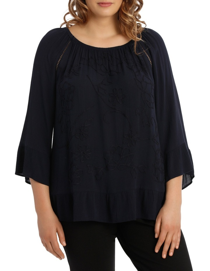 EMBROIDED BLOUSE image 1