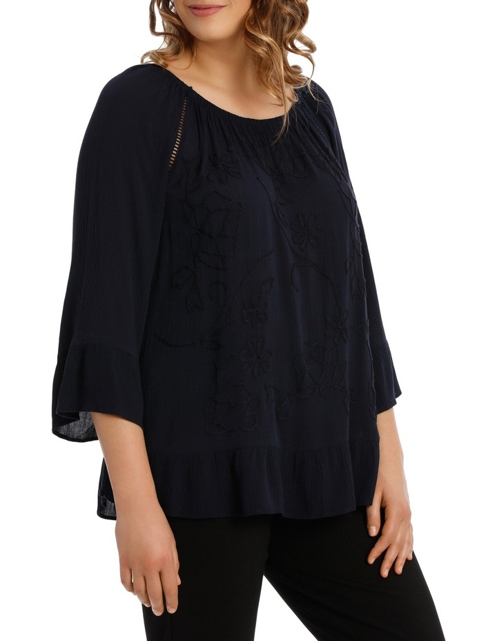 EMBROIDED BLOUSE image 2