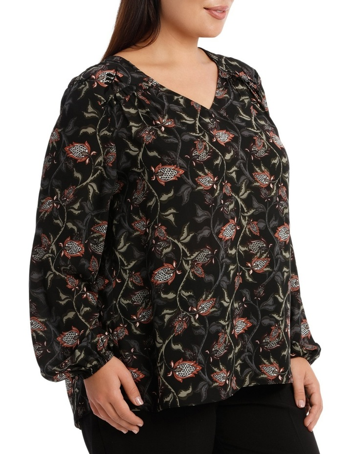Antique Felted Long Sleeve Top image 2