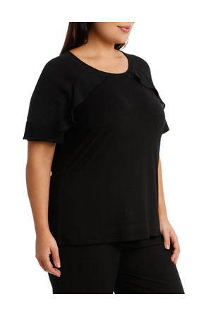 Basque Woman - Must Have Chiffon Frill Tee