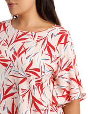 Basque Woman - Must Have Flutter Boxy Sleeve Top