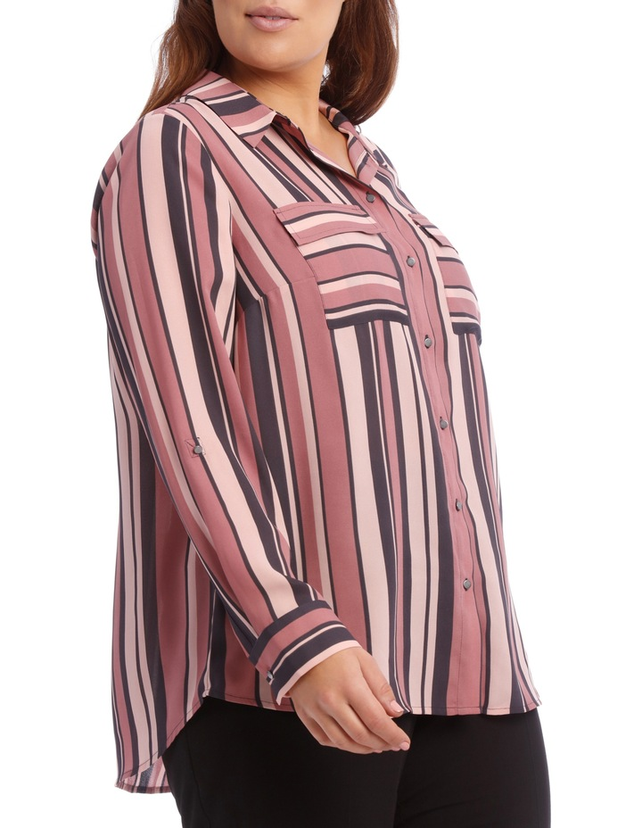 Double Pocket Soft Shirt Print image 3