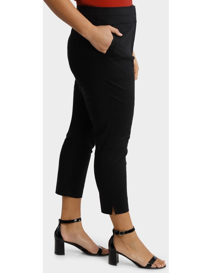 Cotton Sateen Cropped Pant image 2