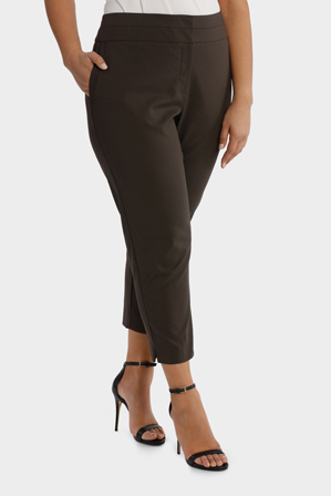 Basque Woman - Cotton Sateen Cropped Pant