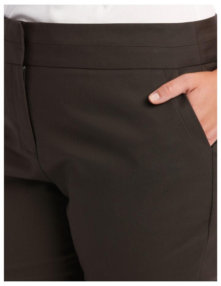 Cotton Sateen Ankle Grazer Pant image 8
