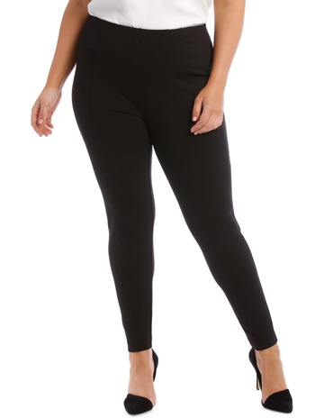 568da64771804 Basque WomanPonte Seam Detail Hot Price Pant. Basque Woman Ponte Seam  Detail Hot Price Pant