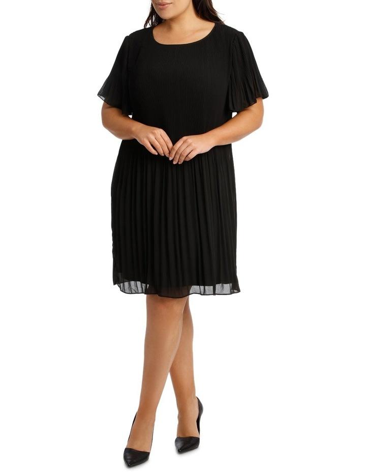Gradient Pleat Aline Dress image 1