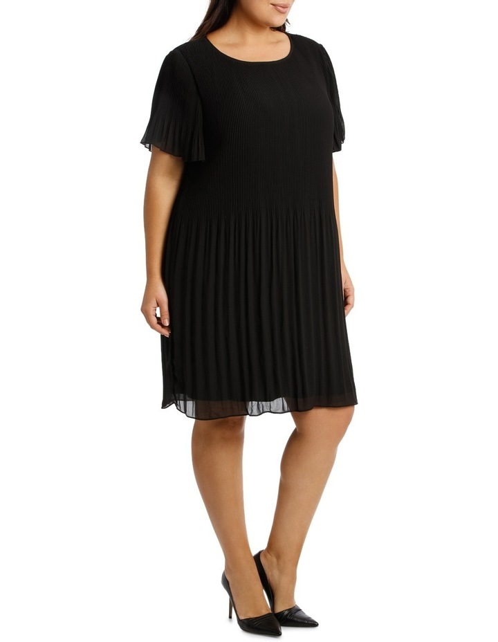 Gradient Pleat Aline Dress image 2