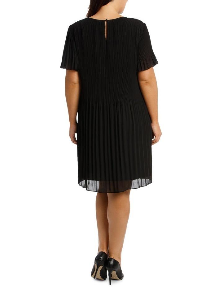 Gradient Pleat Aline Dress image 3
