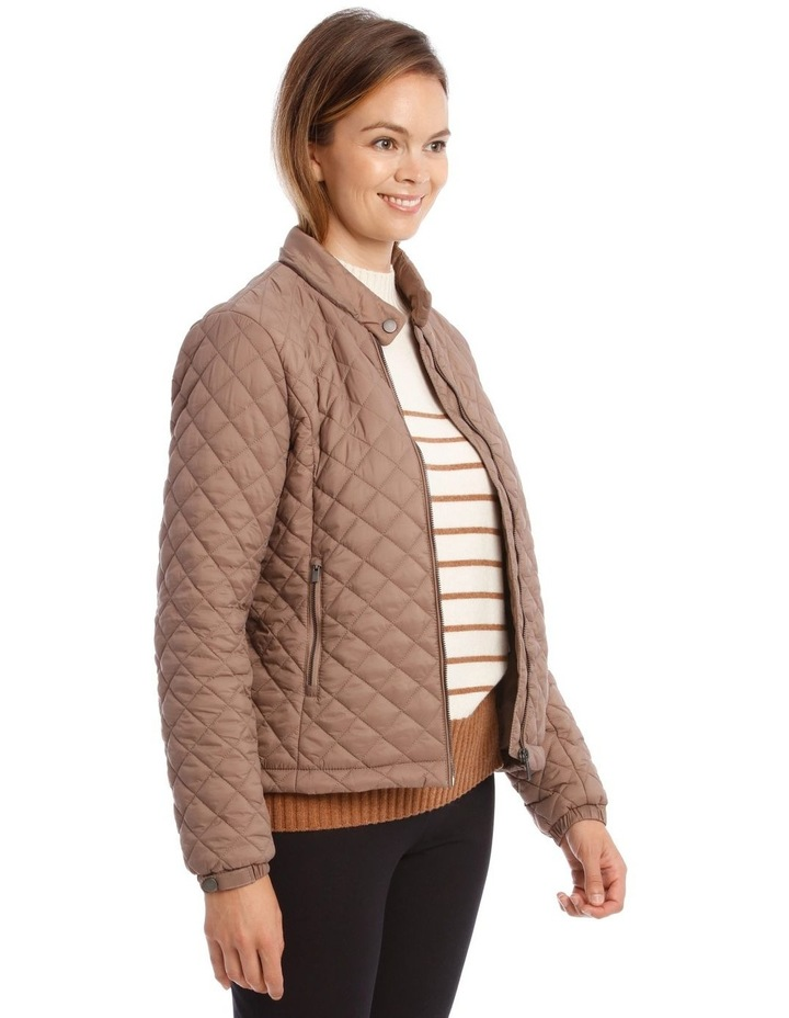 Quilted Puffer Jacket image 5