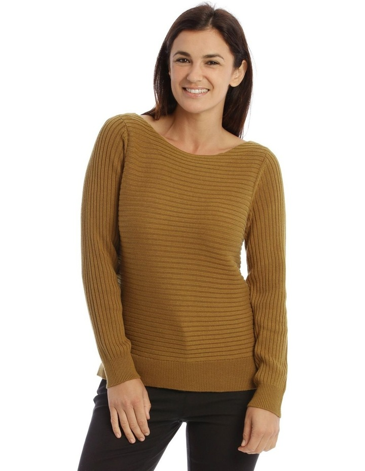 Multi-Directional Rib Knit Jumper image 1