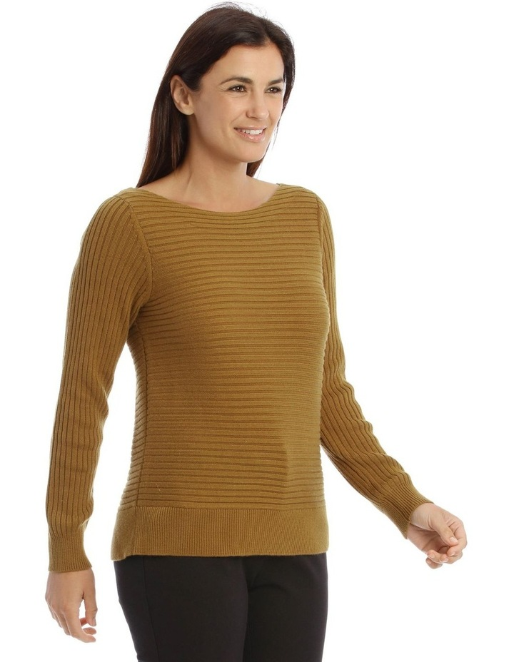 Multi-Directional Rib Knit Jumper image 2