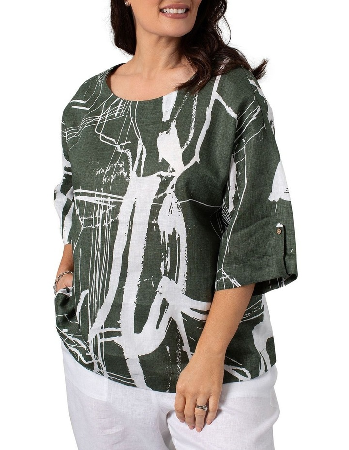 Litho Print Dress image 1