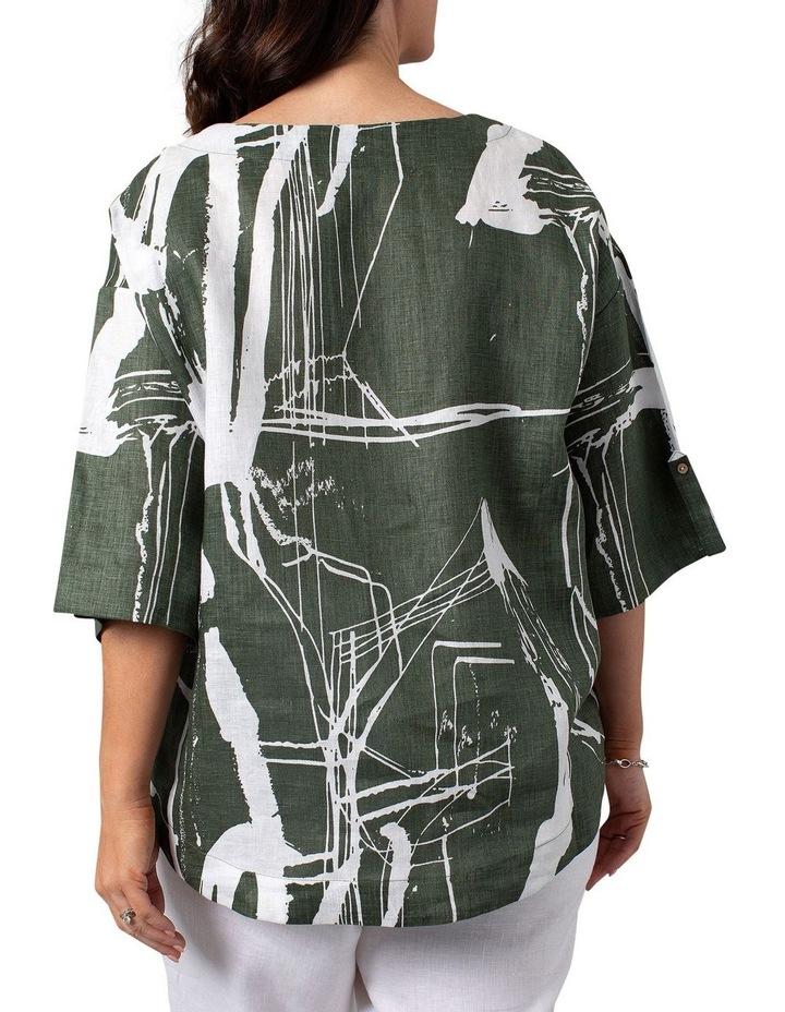 Litho Print Dress image 2