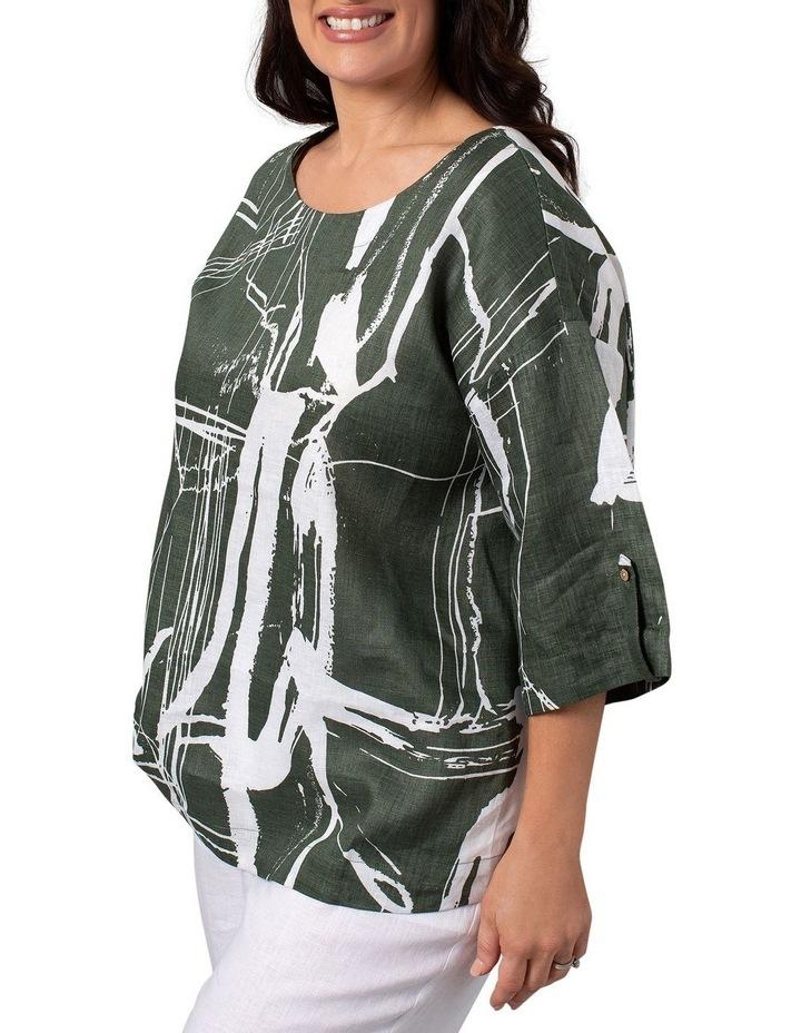 Litho Print Dress image 3