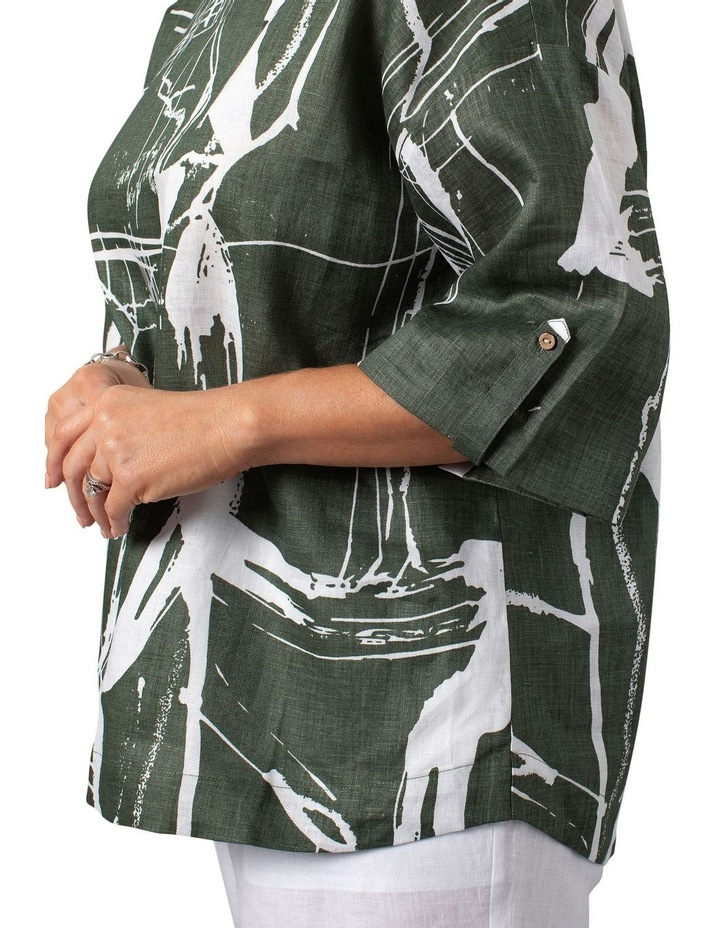 Litho Print Dress image 4