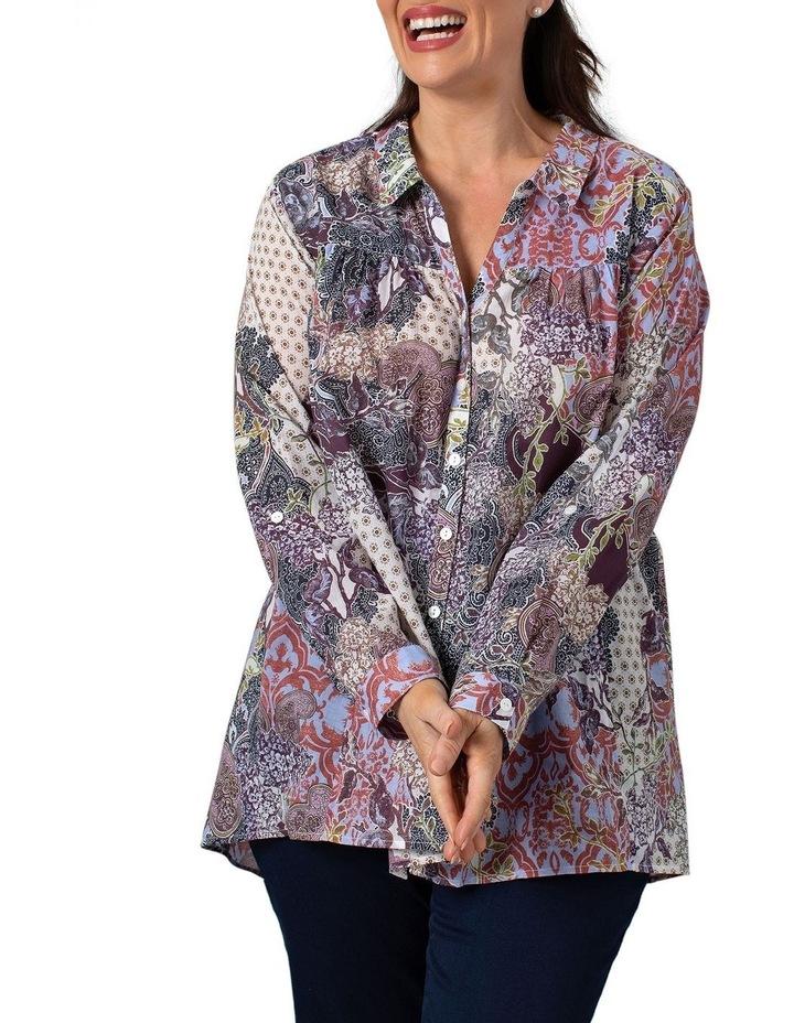 Long Sleeve Shirt Decorative Print image 1
