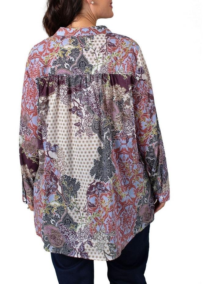 Long Sleeve Shirt Decorative Print image 2