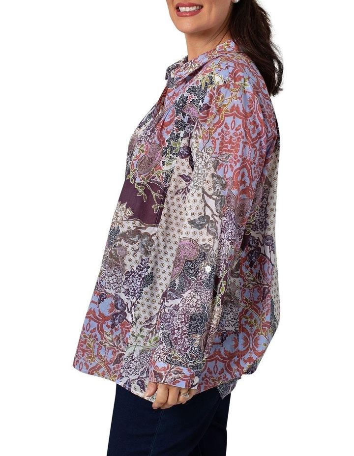 Long Sleeve Shirt Decorative Print image 3