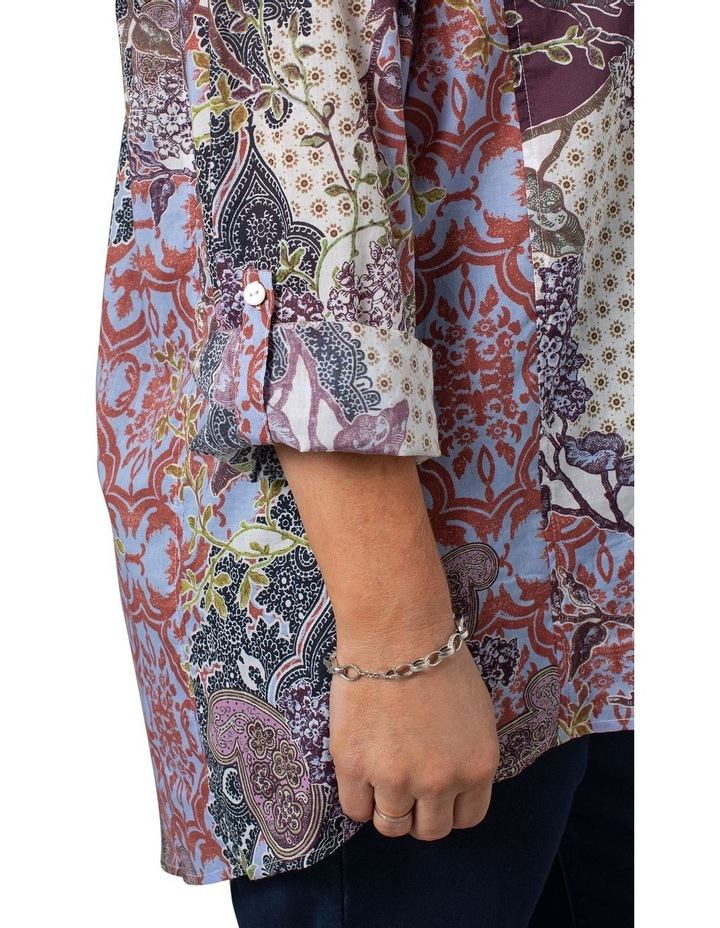 Long Sleeve Shirt Decorative Print image 4