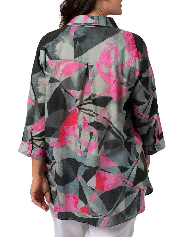 Long Sleeve Shirt Leaf Print image 2