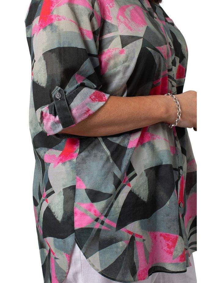 Long Sleeve Shirt Leaf Print image 4