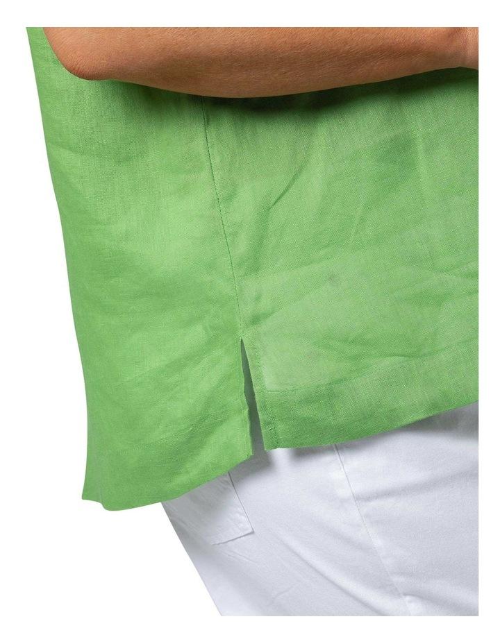 Boxy Essential Shirt Lush Green image 5